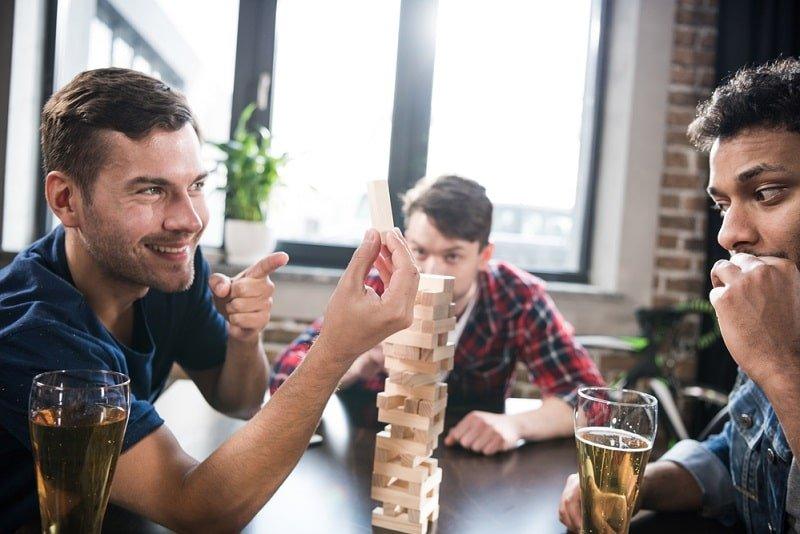 Jenga Trinkspiel - Spaß Mit Den Holzblöcken