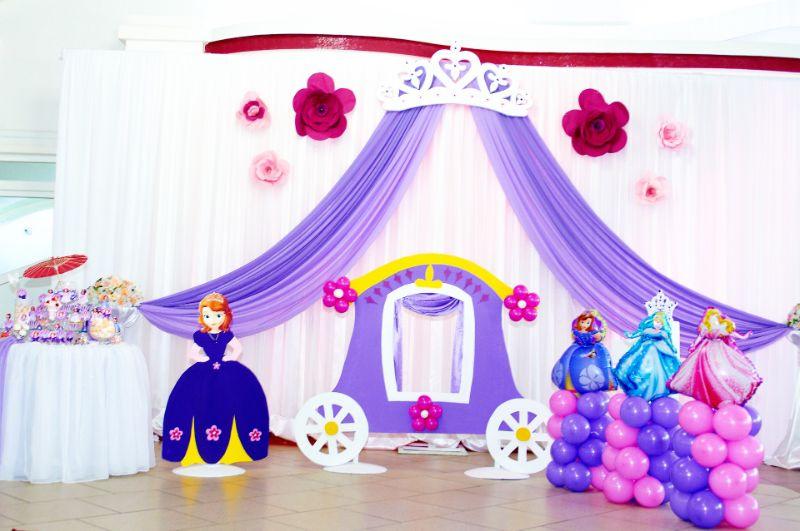 Prinzessinnen Geburtstag Motto Party; Feier Wie Im Märchen