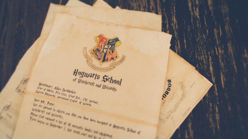 Brief an die Hogwarts-Schule