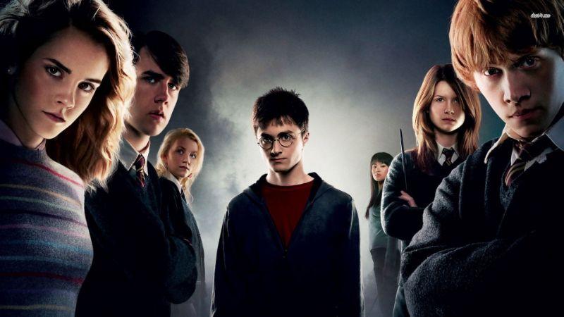 Harry Potter mit anderen Filmfiguren