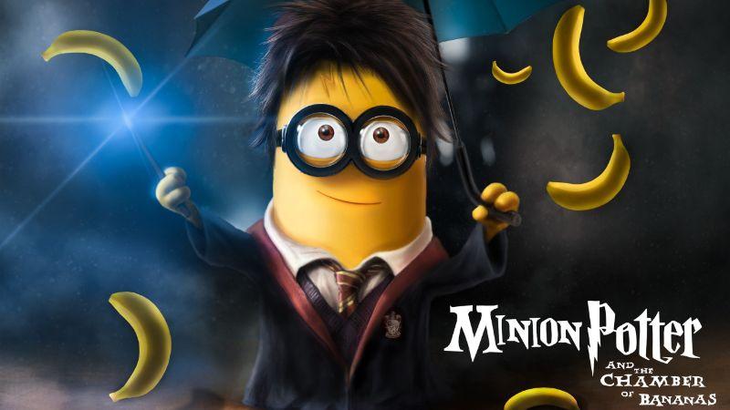 Minion Potter und die Kammer der Bananen