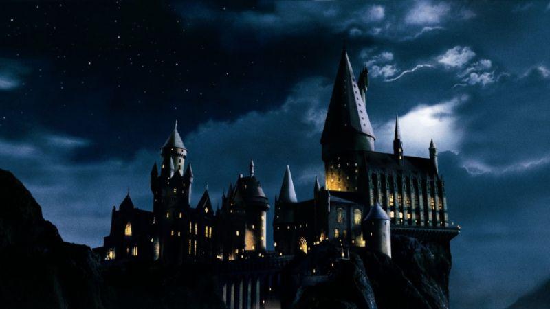 illustriert Hogwarts Schloss