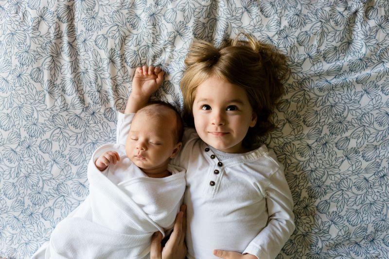 Liebe-Baby-Geschwister-Familie, Geburtstagswünsche Schwester