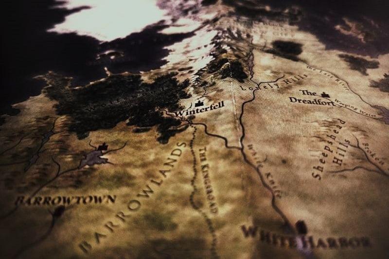 Nahaufnahme-der-braunen-Karte