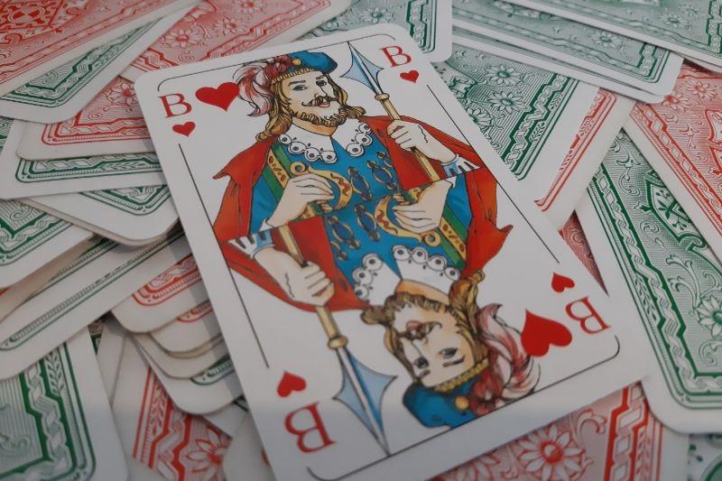 Trumpf Im Kartenspiel