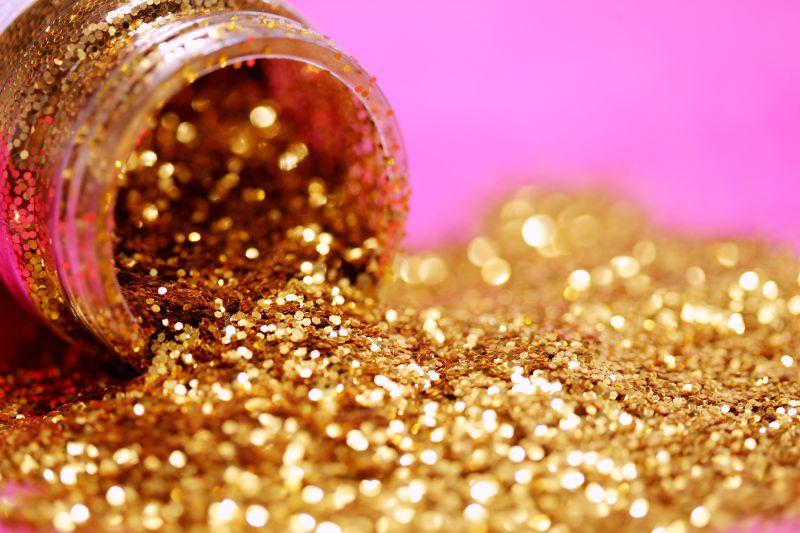 Goldglitter