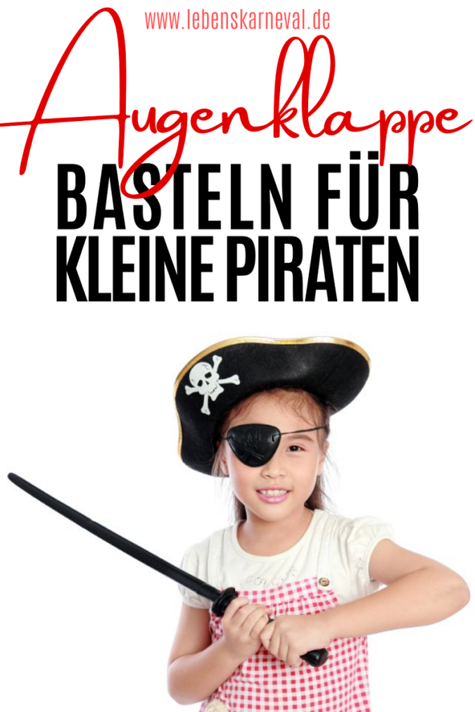 Augenklappe Basteln Für Kleine Piraten