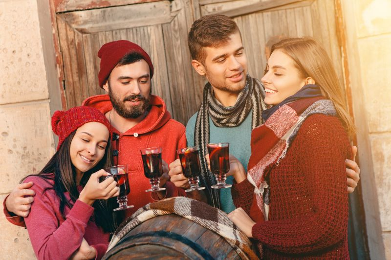 Glühweinparty: So Feiern Sie Den Winter