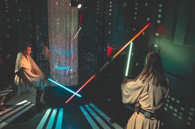 Laser-Labyrinth