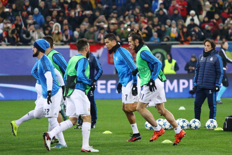 UEFA-Champions-League-Spiel-Shakhtar-gegen-Real-Madrid