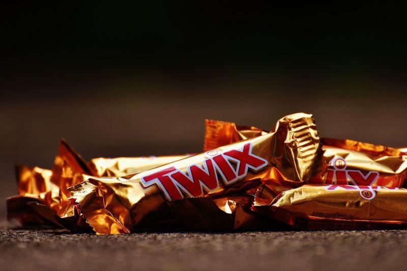 twix-Schokoriegel
