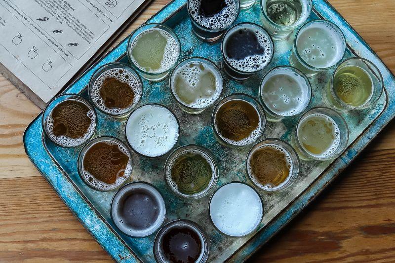 verschiedene-Biersorten