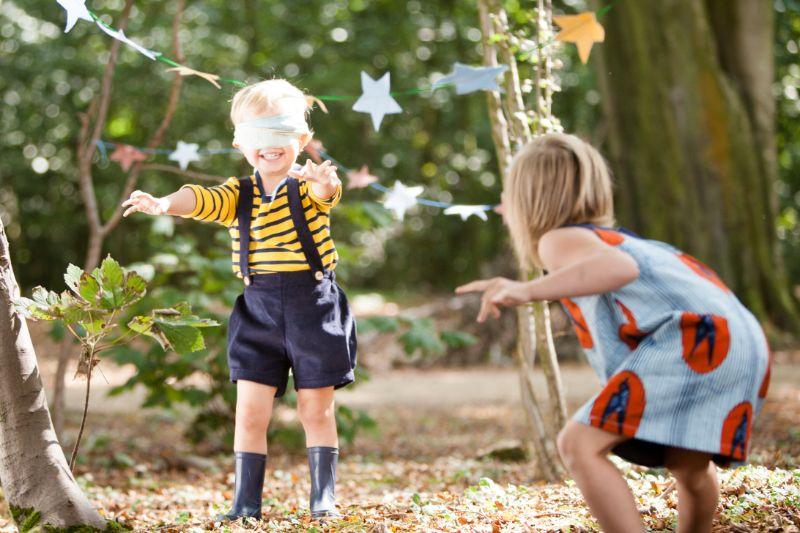 Kind-spielt-Vertrauensspiele