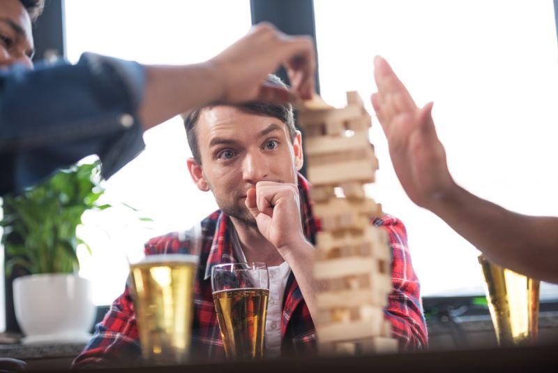 Jenga Trinkspiel – Spaß Mit Den Holzblöcken