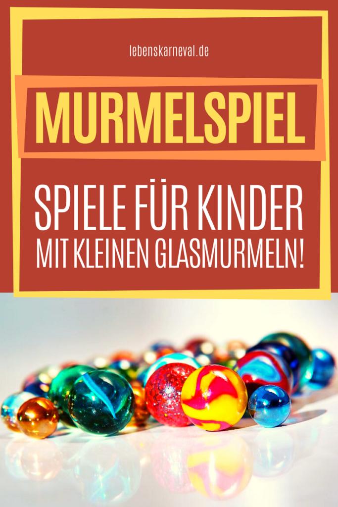 Murmelspiel-Spiele Für Kinder Mit Kleinen Glasmurmeln!