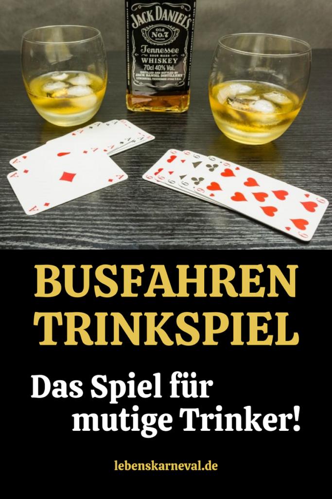 Busfahren Trinkspiel-Das Spiel Für Mutige Trinker!