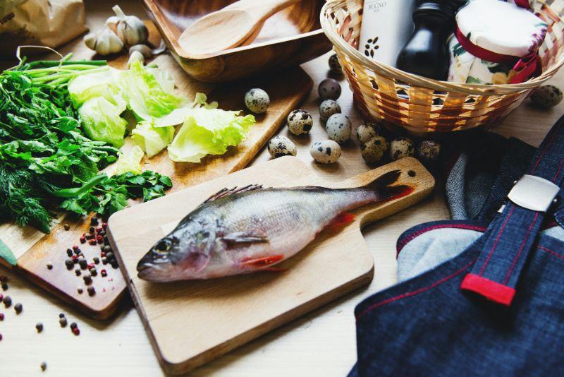 Ostermenu-Fisch