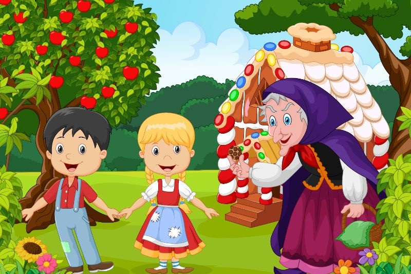 Klassische-Kindergeschichte-Hansel-und-Gretel