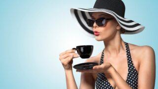 Gute Teezeit Manieren.