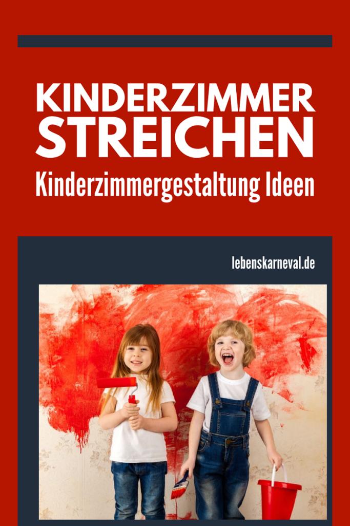 Kinderzimmer Streichen: Kinderzimmergestaltung Ideen