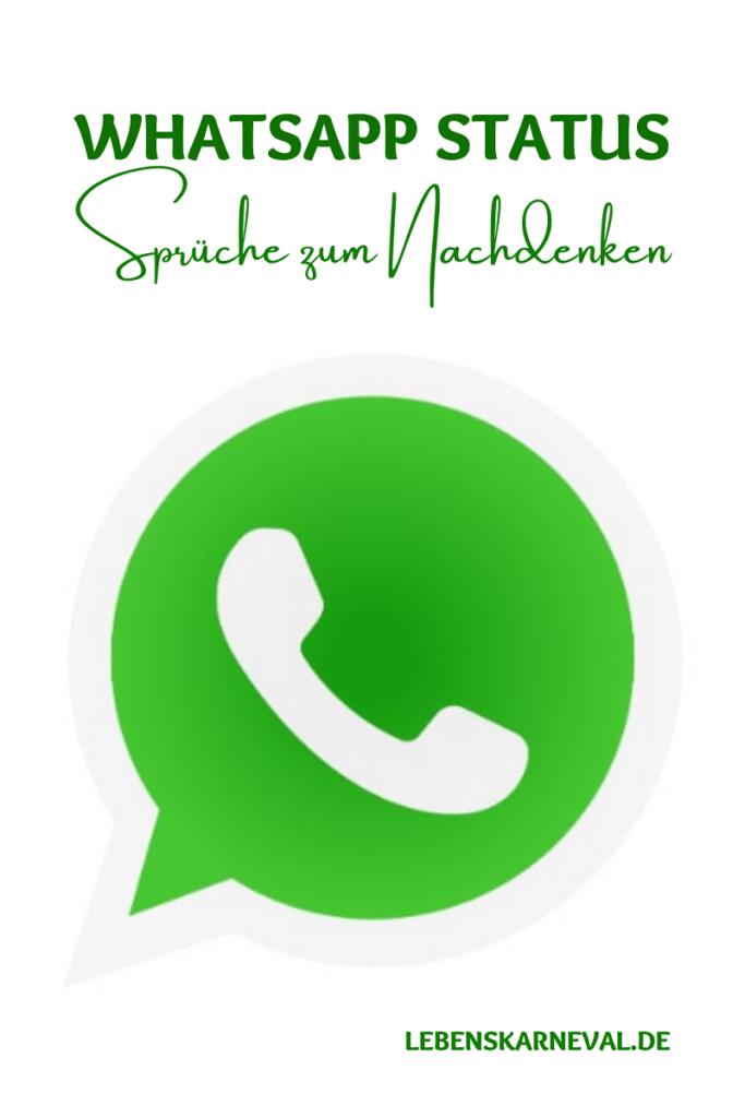 Whatsapp Status Sprüche Zum Nachdenken