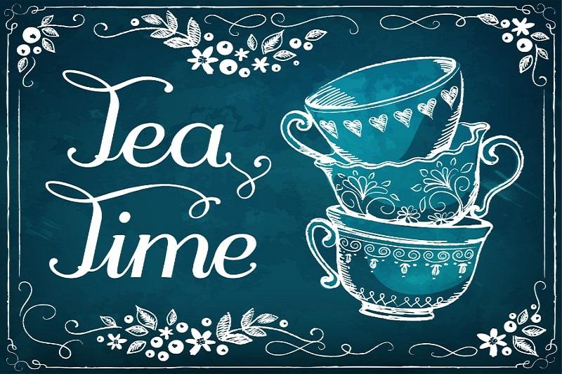 Einladung-zur-Teeparty.-Retro-Abbildung-Tea-Time