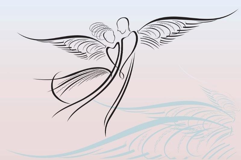 Engel-Zeichnungen