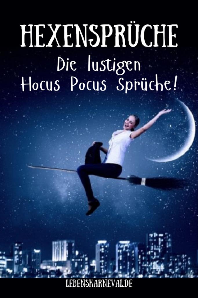 Hexensprüche: Die Lustigen Hocus Pocus Sprüche!