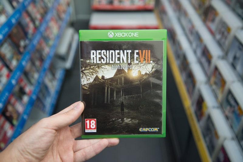 Resident-Evil-7-Videospiel-auf-Microsoft-XBOX-One